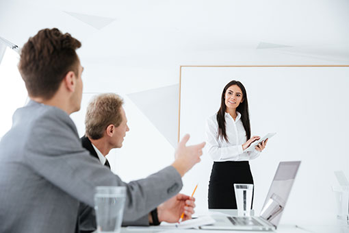 superior-woman-explaining-in-board-room